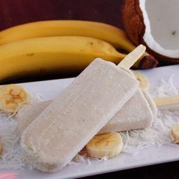 Paleta de Plátano/Coco