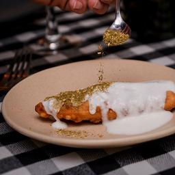 Ftayer /  Empanada de Espinaca con Piñón