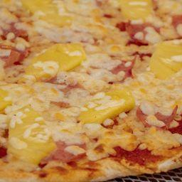 Pizza Familiar Hawaiana y Pepsi 2 L