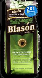 Café en Grano Blasón Gourmet Descafeinado 400 g