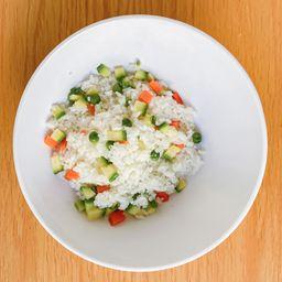Gohan con Vegetales