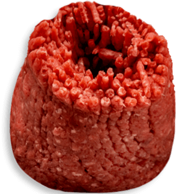 Carne Molida de Res en Bola