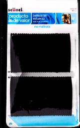 Ligas Scünci Para Cabello Color Negro 60 U
