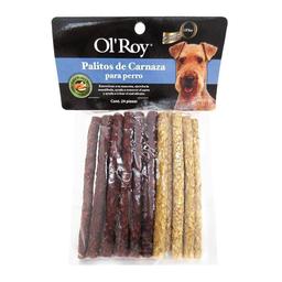 Palitos de Carnaza para Perro Ol Roy Sabor Pollo y Res 24 U