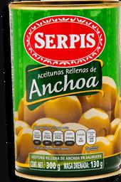 Aceitunas Serpis Rellenas de Anchoa 300 g