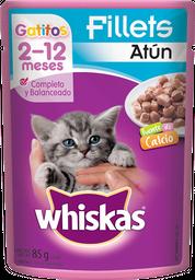 Alimento Para Gato Whiskas Atún Gatitos 85 g