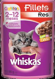 Alimento Para Gato Whiskas Res Gatitos 85 g