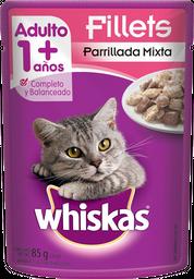 Alimento para Gato Whiskas Fillets Parrillada Mixta Adulto 85 g