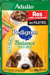 Alimento Para Perro Pedigree Res Estilo Campirano Adulto 100 g