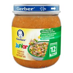 Papilla Gerber Junior Res Con Verduras