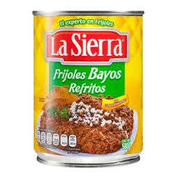 Frijoles La Sierra Bayos Refritos 580 g