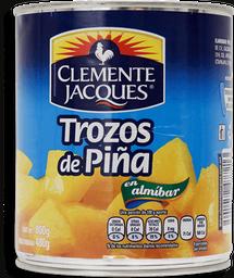 Piña Clemente Jaques Trozos en Almibar 800 g