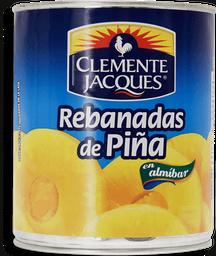 Piña Clemente Jacques Rebanadas en Almíbar 800 g