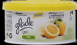 Aromatizante Glade Limon 70 g. Gel