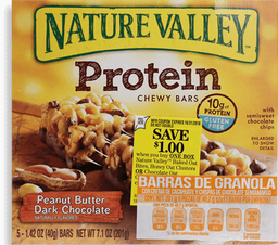 Barra de Cereal Nature Valley Chocolate y Cacahuate 40.2 g x 5