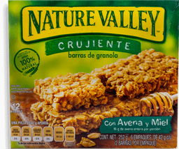Nature Valley Barra de Granola Avena y Miel