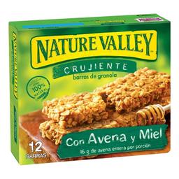 Barra de Granola Nature Valley Avena y Miel 42 g x 6