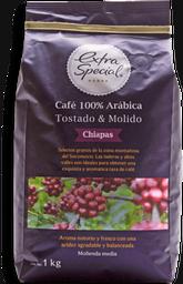 Café Molido Extra Special Chiapas 1 Kg
