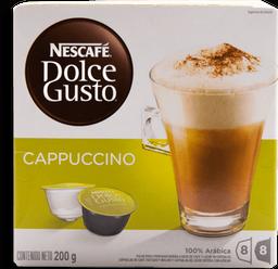 Cápsulas de Café Nescafé Dolce Gusto Capuccino 16 U