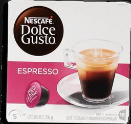 Cápsulas de Café Nescafé Dolce Gusto Espresso 16 U