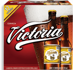 Cerveza Victoria Oscura 210 mL x 12