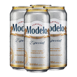 Cerveza Modelo Especial 4 Unidades 473 Mililitros