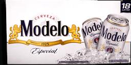 Cerveza Modelo Especial 355 mL x 18