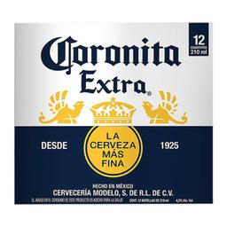 Cerveza Coronita Botella X 12