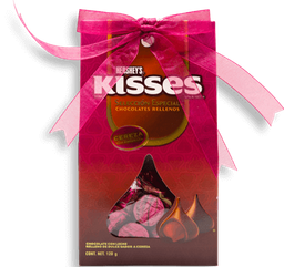 Chocolate Kisses Rellenos de Cereza 120 g