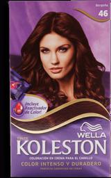 Tinte Wella Koleston en Crema Borgoña