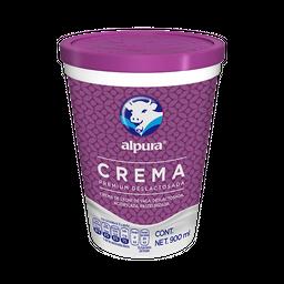 Crema Alpura Deslactosada Premium 900 mL