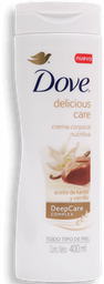 Crema Corporal Dove Delicious Care 400 mL