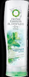 Acondicionador Herbal Essences al Desnudo Brillo Natural 670 mL