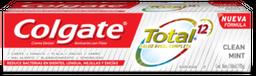 Pasta Dental Colgate Total 12 Clean Mint 150 mL
