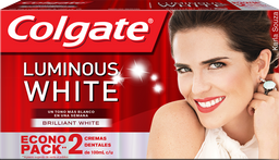 Pasta Dental Colgate Luminous White 500 mL x 2