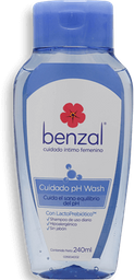 Shampoo Íntimo Benzal pH Wash 240 mL