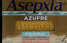 Jabón Asepxia Azufre Farma