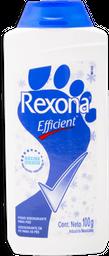 Talco Rexona Desodorante Efficient 100 g