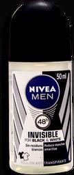 Desodorante Nivea Men Invisible Black & White 50 mL