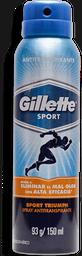 Desodorante Gillette Sport Triumph Caballero Aerosol 150 mL