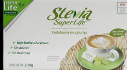 Endulzante Stevia Super life Sin Gluten 200 g