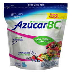 Azúcar Metco BC Con Stevia 1.5 Kg
