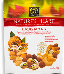 Mezcla de Nueces Nature's Heart Luxury Nut Mix 70 g