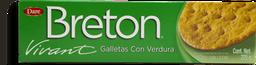 Galletas Breton Vivant Con Verdura 225 g
