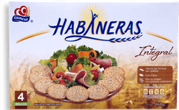 Galletas Habaneras Integral Caja 58.5 g x 4