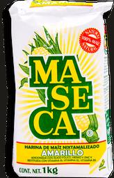 Harina de Maíz Maseca Nixtamalizado Amarillo 1 Kg