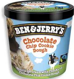 Helado Ben And Jerry's Chocolate Chip Cookie Dough 473 mL