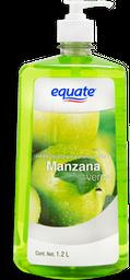 Jabón Equate Para Manos Líquido Aroma Manzana Verde 1.2 mL