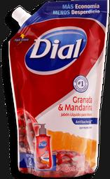 Jabón Líquido Dial Granada y Mandarina Antibacterial 450 mL