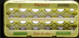 Huevo Bachoco Blanco 18 U